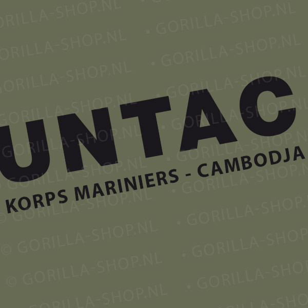 t-shirt UNTAC
