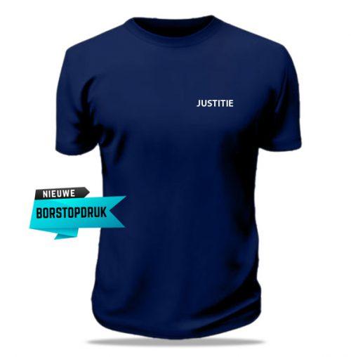 Bedrukt t-shirt Justitie
