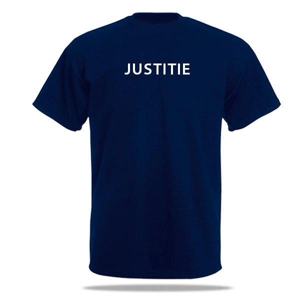 T-shirt Justitie