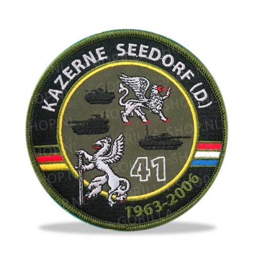 patch kazerne Seedorf