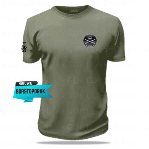 t-shirt veldartillerie