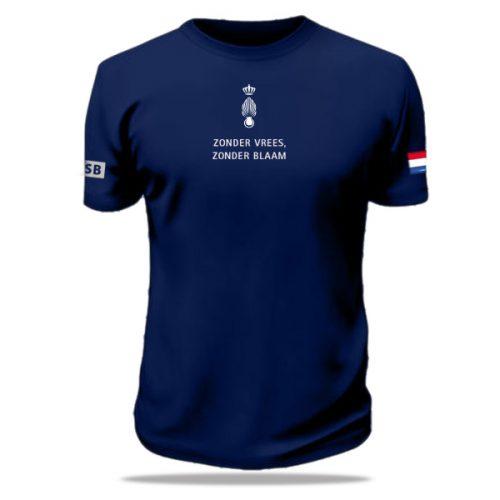 bedrukt t-shirt marechaussee