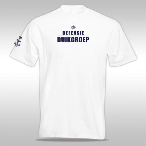 t-shirt defensie duikgroep
