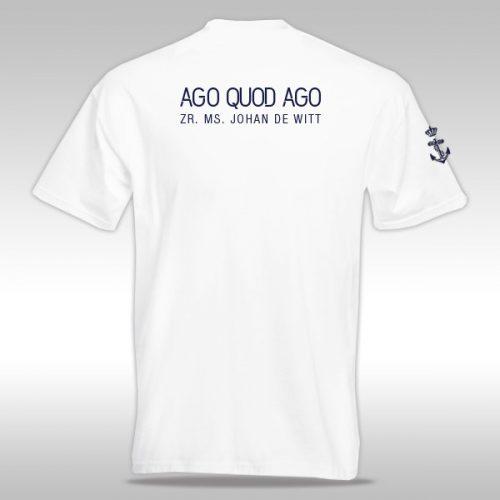 Bedrukt shirt Johan de Witt L801
