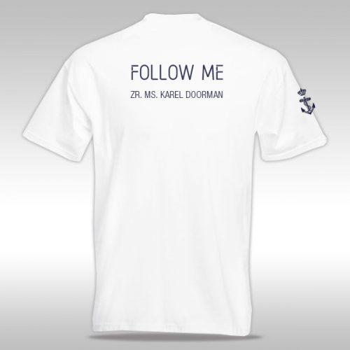 Rug t-shirt Karel Doorman