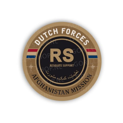 Sticker Resolute Support