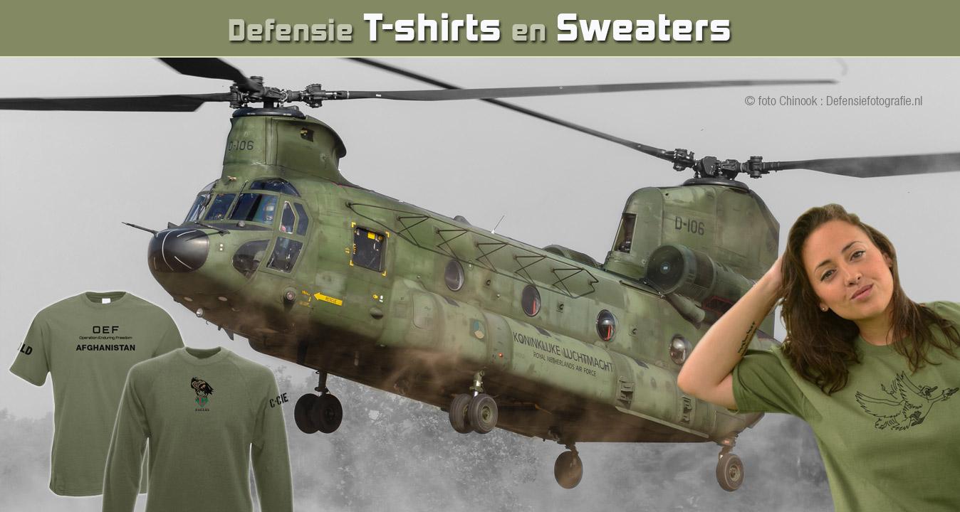 Defensie T-shirts