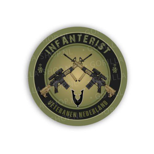 Sticker Veteraan Infanterie