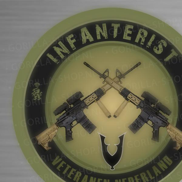 sticker infanterie