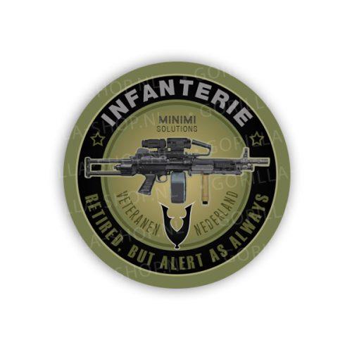 MINIMI sticker (veteraan)
