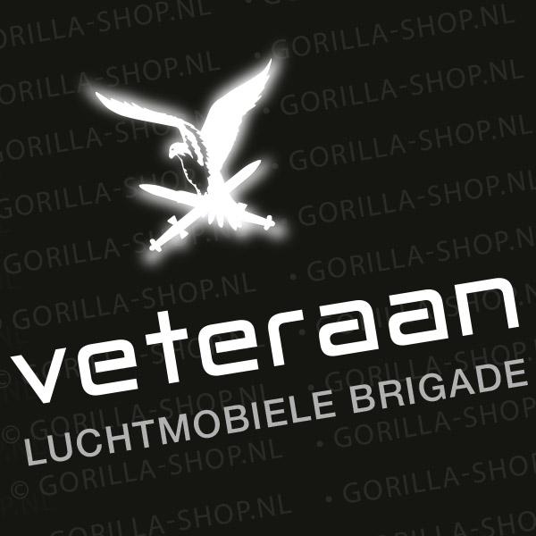 bedrukking veteranen t-shirt